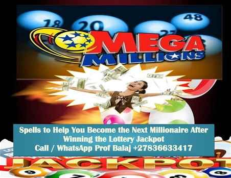 Lottery Spells to Win the Mega Millions Jackpot Call 02783663317